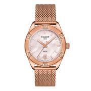 Tissot - PR 100 Sport Chic S/Steel & Rose Gold Watch 36mm