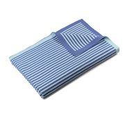 DLUX Baby - CooCoo Cotton Knit Stripe Blanket Blue 70x90cm