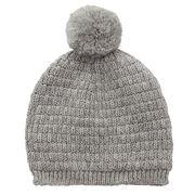 DLUX Baby - Neo Merino Basket Knit  Baby's Hat Grey