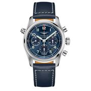 Longines - Spirit S/Steel B/Dial Auto Chronograph Watch 42mm