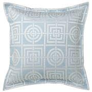 Florence Broadhurst - Circles & Squares Sky Euro Pillowcase