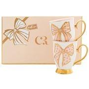 Cristina Re - French Bow Mug Set 2pce