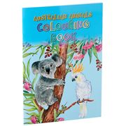 Book - Australian Animals Coloring Book