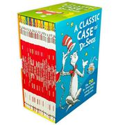 Book - A Classic Case Of Dr. Seuss Book Set 20pce
