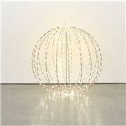 Papaya - Capella LED Metal Foldable Sphere Electric Med 60cm