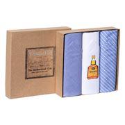 Tamielle - Whiskey Bottle Handkerchief Set 3pce