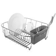 Avanti - Slimline Dish Rack Small Silver/Grey