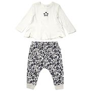 Marquise - Apple Blossom Frill Top & Pants Size 0