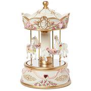 Gibson Baby - Mirrored Carousel Cream Large