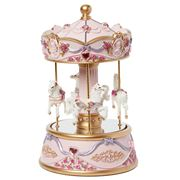Gibson Baby - Mirrored Carousel Pink Large