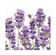 Paper Products Design - Bees & Lavender Napkins 33x33cm 20pc