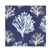 IHR - Coral Blue Lunch Napkins 20pce