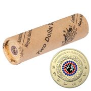 RA Mint - 2021 $2 Circ Rolled Coin Indigenous Milit. Service