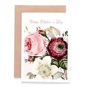 Candle Bark - Peonies For Mum Card