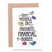 Candle Bark - Mum's Financial Burden Card