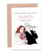 Candle Bark - Ab Fab Mother's Day Card