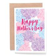 Candle Bark - Mum's Hydrangeas Card