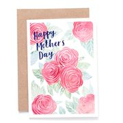 Candle Bark - Mum's Soft Roses Card