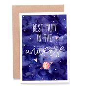 Candle Bark - Universe Mum Card