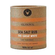 Olsson's - The Great White Sea Salt Rub 160g