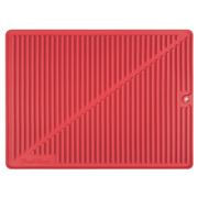 Final Touch - Silicone Drying Mat Large Red