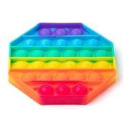 Peter's - Pop It Octagon Fidget Rainbow