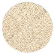 Carnival - Handmade Jute Round Placemat Natural 35cm