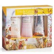 L'Occitane - Floral Hand Cream Set 3pce