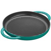 Staub - Pure Round Grill Mint Green 26cm