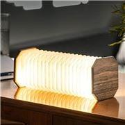 Gingko - Smart Accordion Lamp Natural Walnut