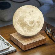 Gingko - Smart Moon Lamp Natural Walnut