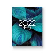 Affirmations - Blue 2022 Diary