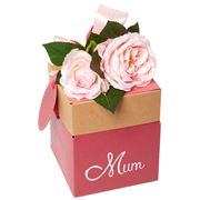 Boz - Bouquet Box with Chocolates Mum