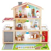 Hape - Doll Family Mansion 28pce