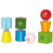 Hape - Twist and Turnables 8pce