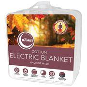 Bambi - Multi-Zone Heating Cotton Electric Blanket K/Single