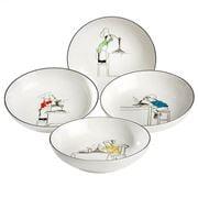 Noritake - Le Restaurant Pasta Bowl Set 22cm 4pce