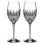 Waterford - Lismore Diamond Wine 384ml Set 2pce