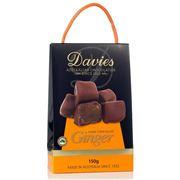 Davies - Dark Chocolate Ginger 150g