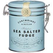 Cartwright & Butler - Sea Salted Caramel Fudge Tin 175g