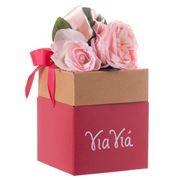 Boz - Bouquet Box with Chocolates Yia Yia