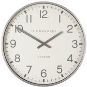Thomas Kent - Clocksmith Wall Clock Silver 30cm