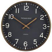 Thomas Kent - Clocksmith Wall Clock Brass & Black 30cm