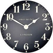 Thomas Kent - Arabic Wall Clock Black 30cm