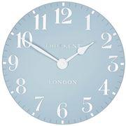Thomas Kent - Arabic Wall Clock Stonewash Blue 30cm