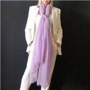 Cashmere Luxe - Cloud Cashmere Handloom Wrap Lavender