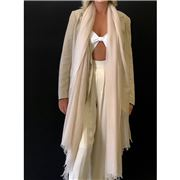 Cashmere Luxe - Cloud Cashmere Handloom Wrap Soft Pink