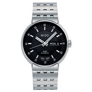 Mido - All Dial Automatic Gentlemen Black Dial Watch 38mm