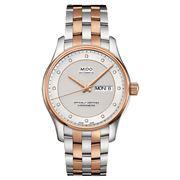 Mido - Belluna Automatic Gents Silver/Rose Gold Watch 40mm