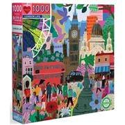 eeBoo - London Life Puzzle 1000pce